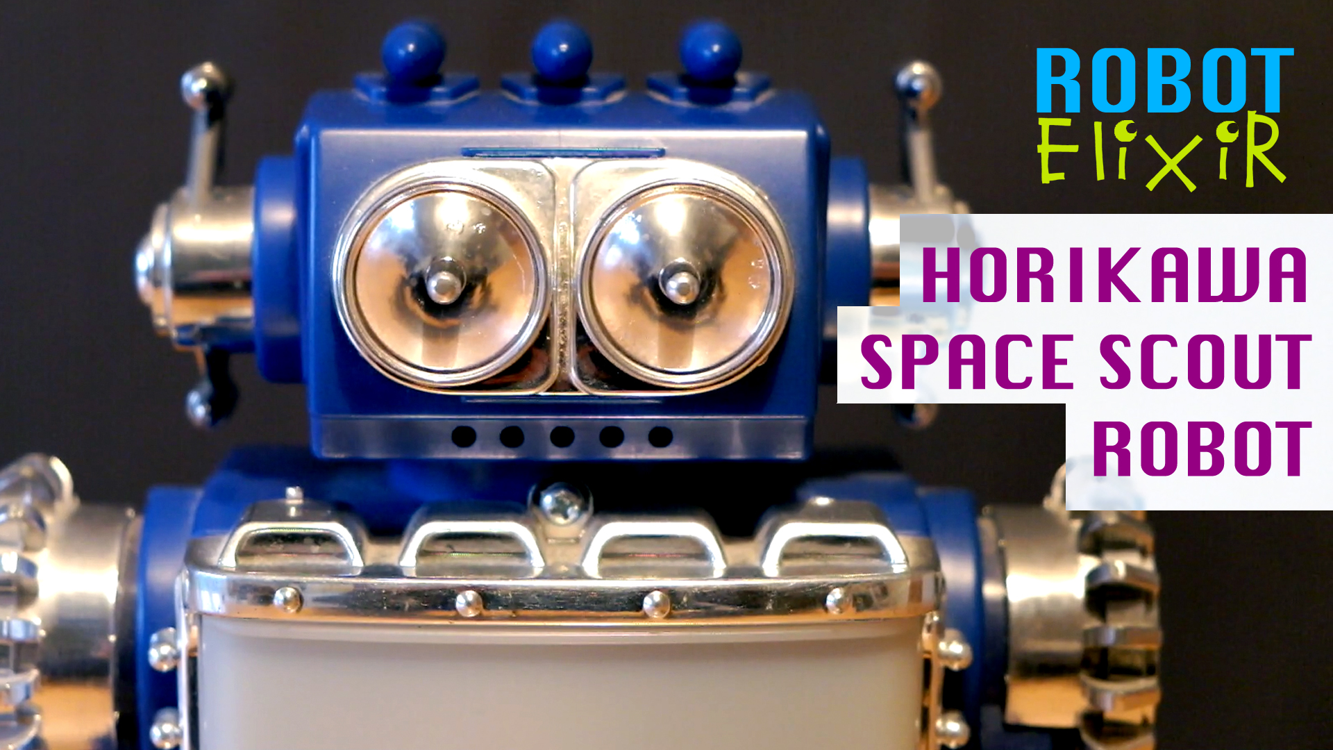 Horikawa Space Scout Toy Robot Video