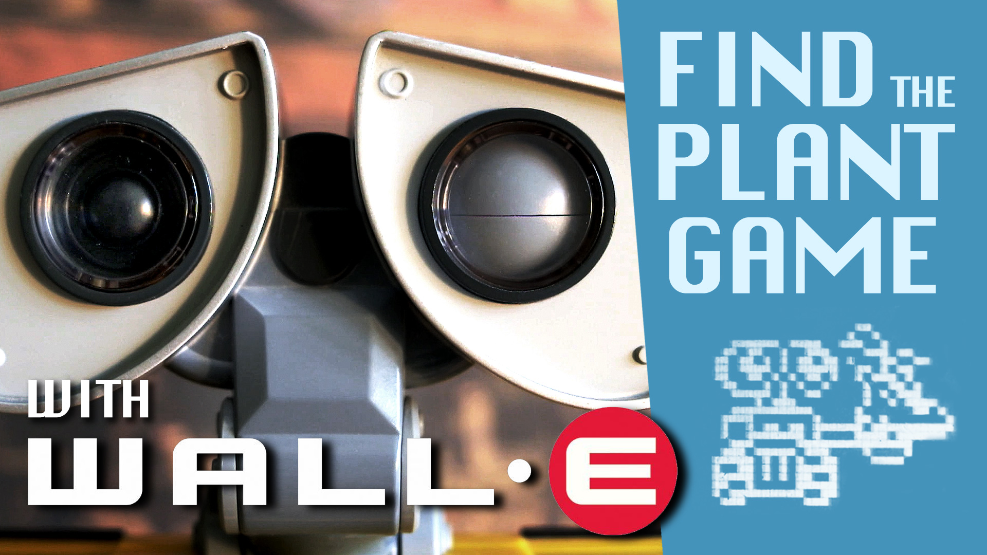 WALL-E Laptop Find the Plant Game - Play along fun