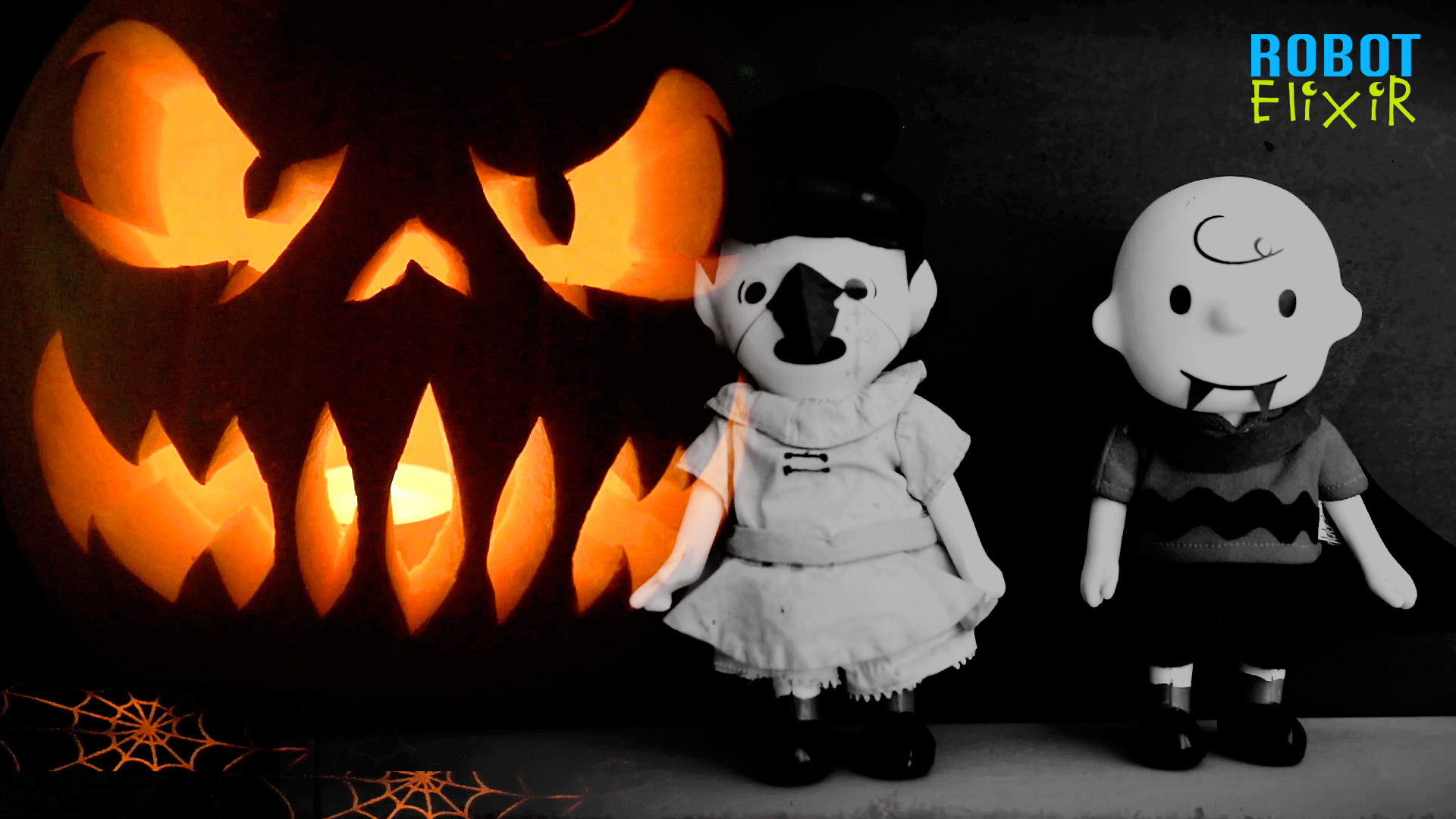 HALLOWEEN Story Time with Charlie Brown & Lucy