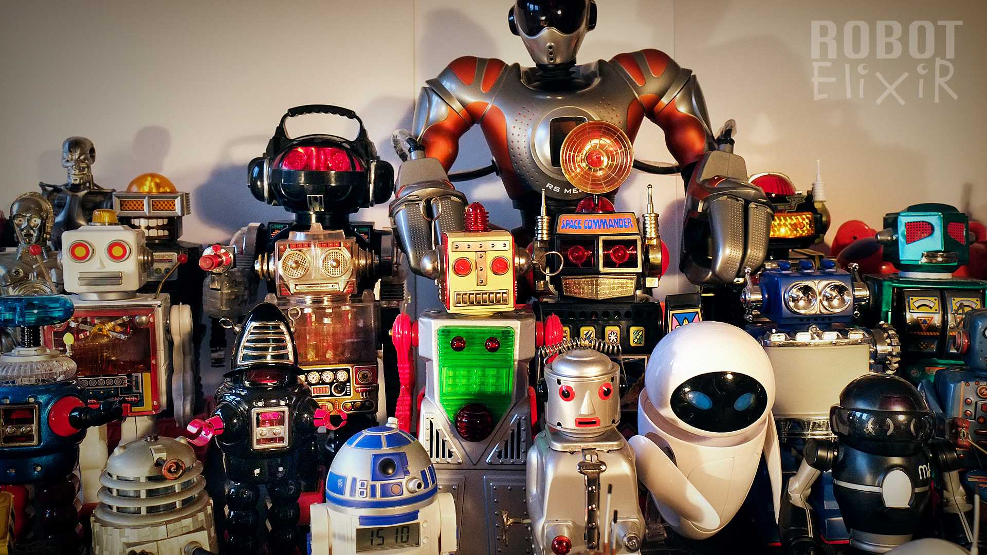 My Toy Robot Collection   Vintage & Collectible Toys