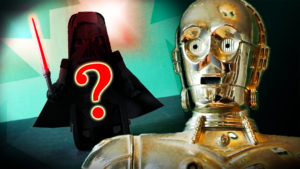 MiP robot has turned to the DARK SIDE! with C3PO & R2-D2 toys