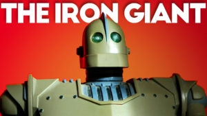 The Iron Giant Coin Bank by Trendmasters