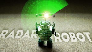 Radar Robot Escapes! - Wind-Up Toy Animation