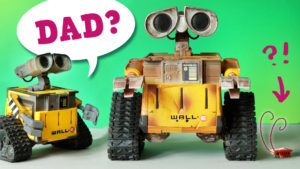 Wall-E finds his Daddy?