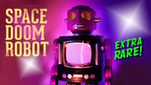 SPACE DOOM ROBOT | Limited Edition Japanese Tin Toy 1990s