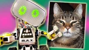 Playing Games with Meccano MAX Robot   Would You Rather Challenge