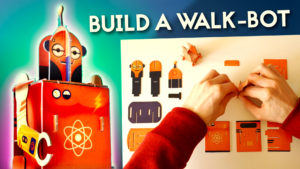 How to Make a Walking Robot out of Cardboard