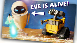 EVE IS ALIVE! Caught on camera | What happens when Wall-E toys are left alone