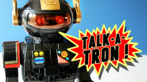 Playwell TALK-A-TRON - Walkie Talkie Toy Robot with Voice Amplifier