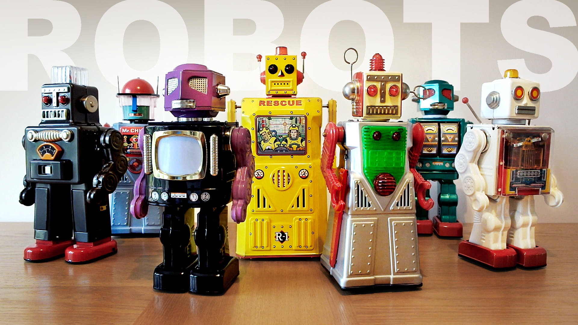 My Toy Robot Collection // 2018 UPDATE