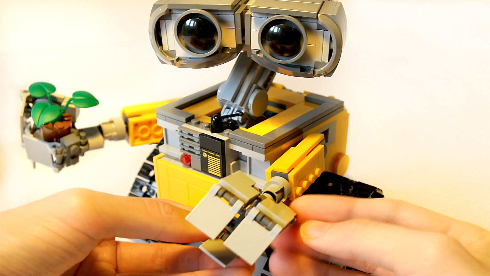 Lego Ideas Wall-E Set 21303 // Complete Build Step by Step