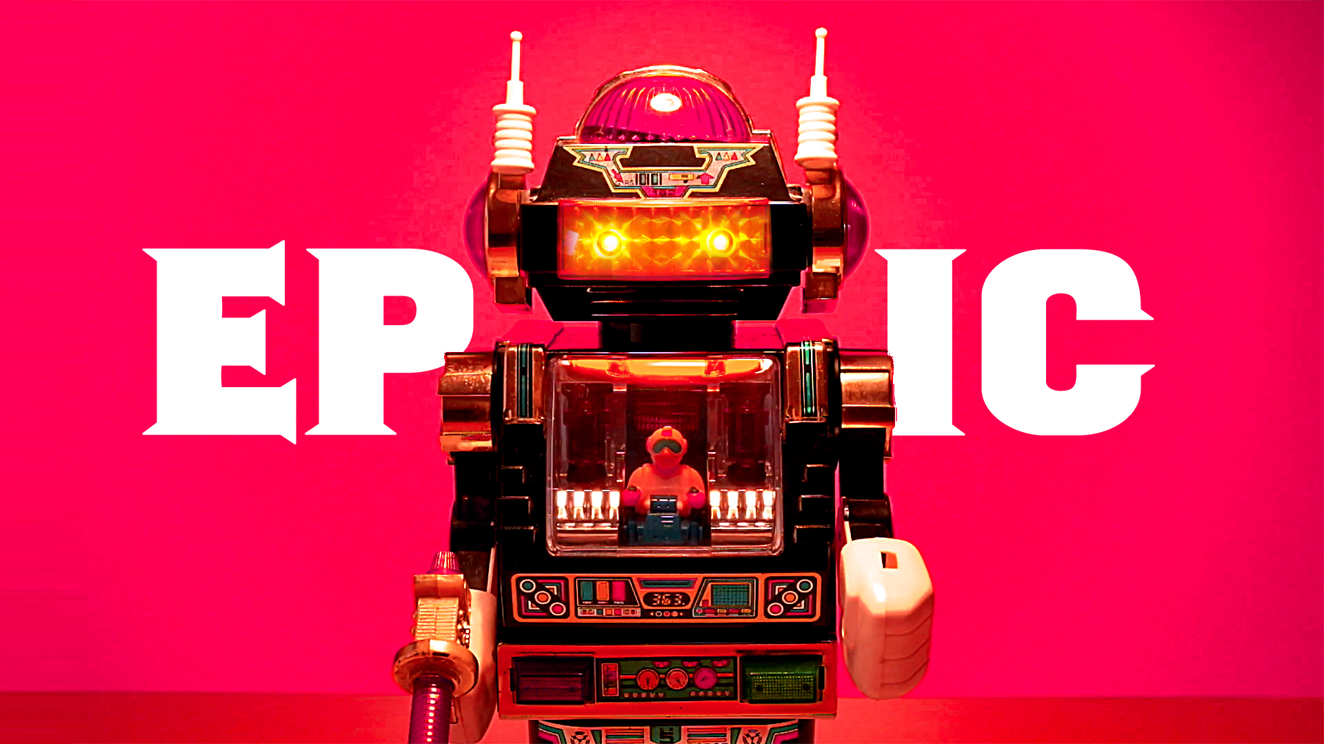 Another 1980s Masterpiece… Star Roto Robot