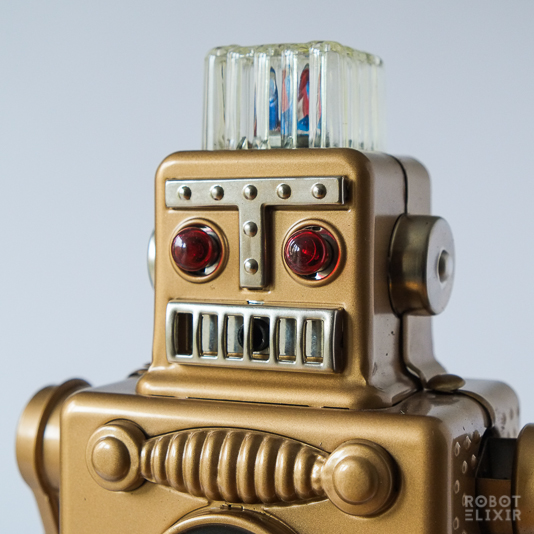 Ha Ha Toy Smoking Spaceman Gold Limited Edition