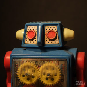 S.H. Horikawa Gear Robot Blue and Red (version 2)