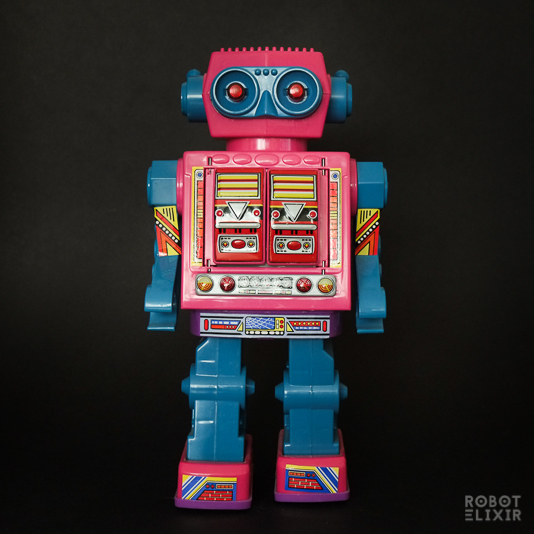 Lucky Star Super Astronaut Robot with Rotate-o-Matic action