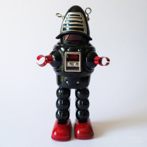 Ha Ha Toy Planet Robot (Robby the Robot)