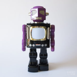 Metal House Space Doom Television Robot