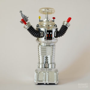 Lost in Space The Classic Series Robot B-9 by Trendmasters (Limited Edition Chrome Version)