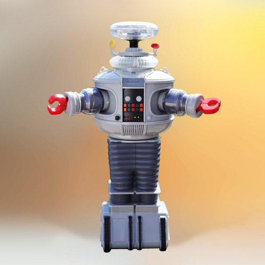 Lost in Space Electronic B-9 Robot by Diamond Select Toys
