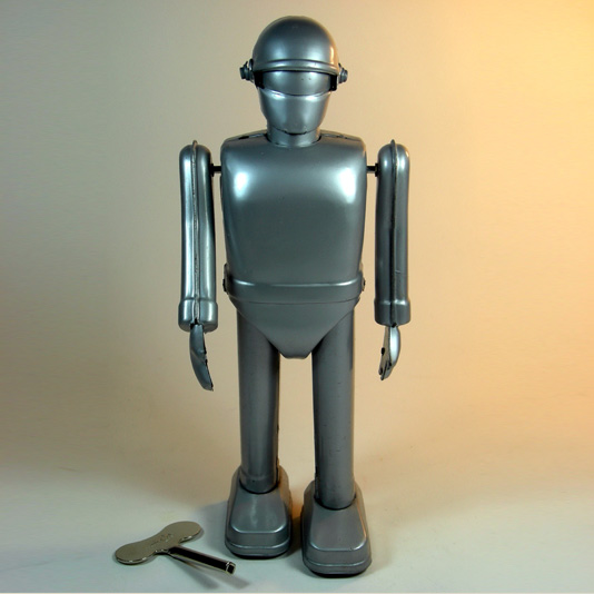 Gort Robot by Rocket USA (Metal wind up toy) The Day the Earth Stood Still