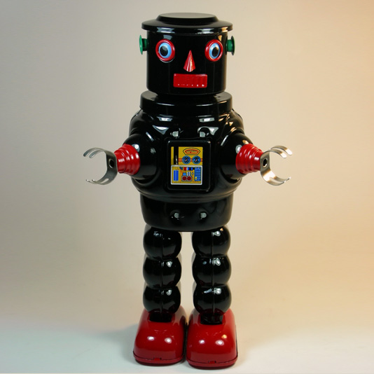 Mechanical Roby Robot by Ha Ha Toy (Robby with R-35 head)