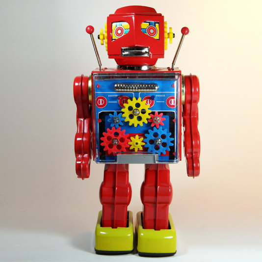 New Gear Robot by Metal House Japan