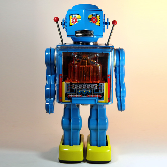 New Piston Robot by Metal House Japan