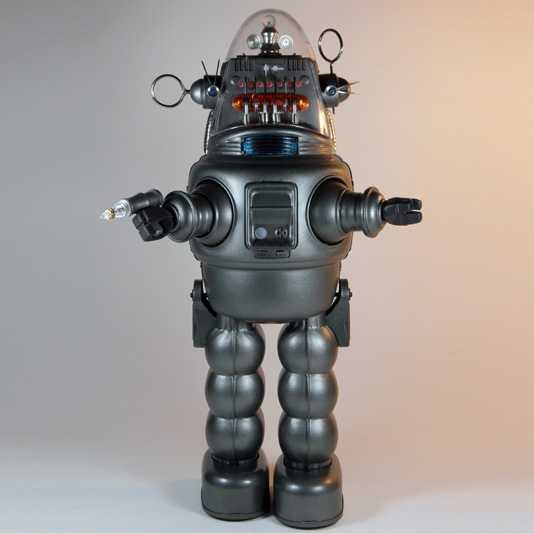 Robby the Robot (with Blaster Gun) by Osaka Tin Toy Institute