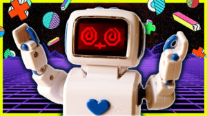 You're invited to my ROBOT PARTY!