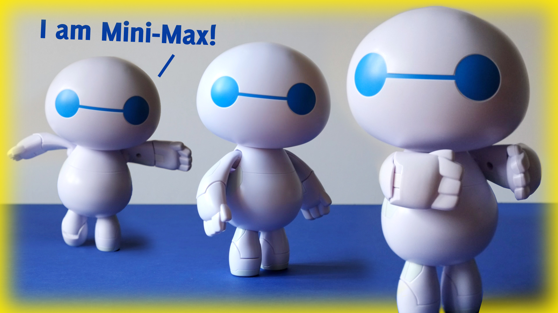 MINI MAX The Small Baymax Robot from Big Hero 6 The Series