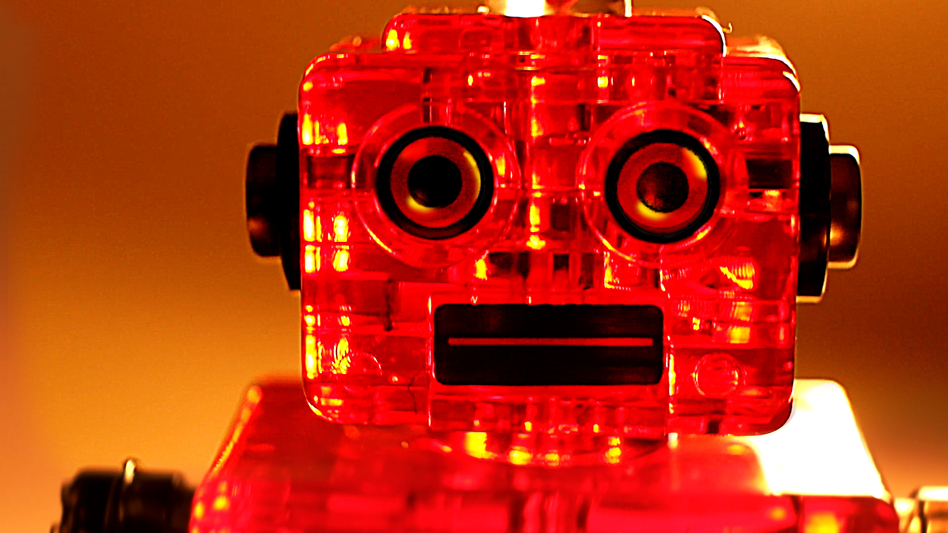 Sparkling Crystal Robot! - 3D Jigsaw Puzzle