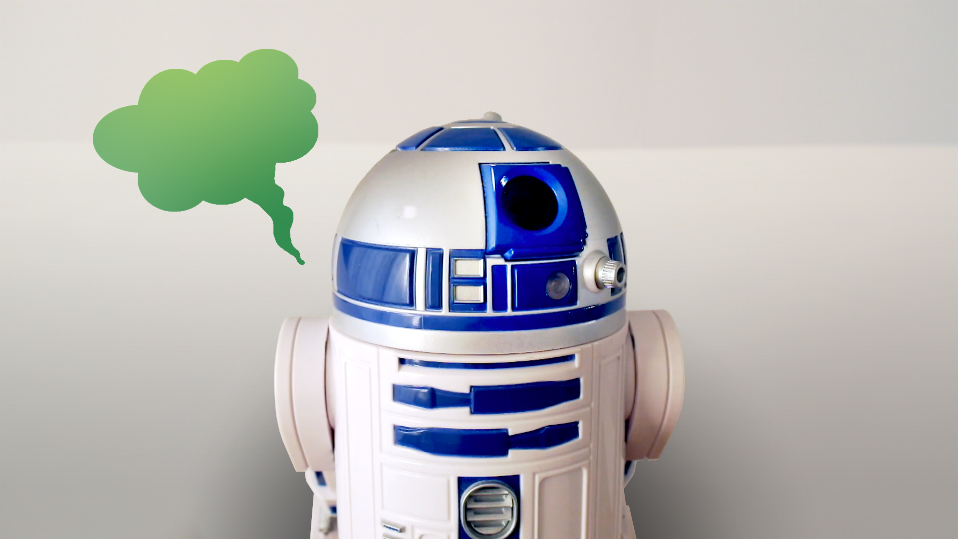 R2D2 farted on me!