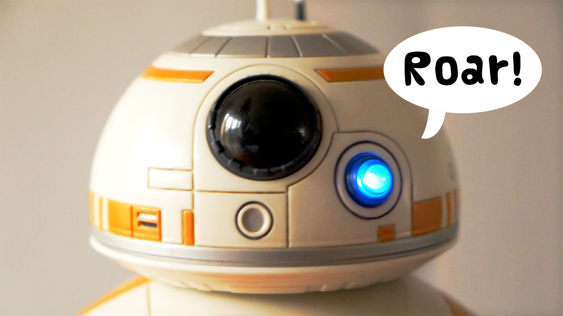 BB-8 SOUNDS LIKE A DINOSAUR! // Disney Store Robot Toy Review and Unboxing