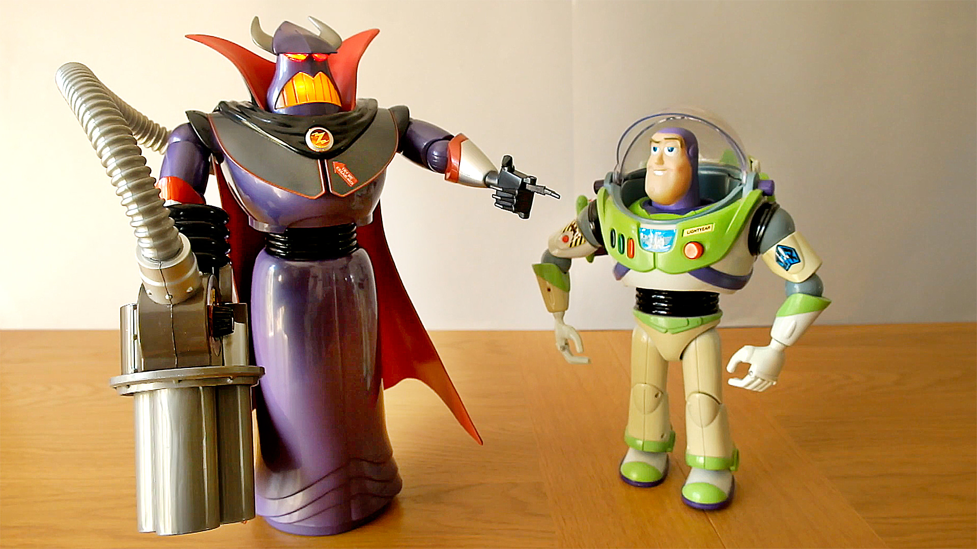 EMPEROR ZURG tells Buzz Lightyear the truth / Toy Story Toy Review