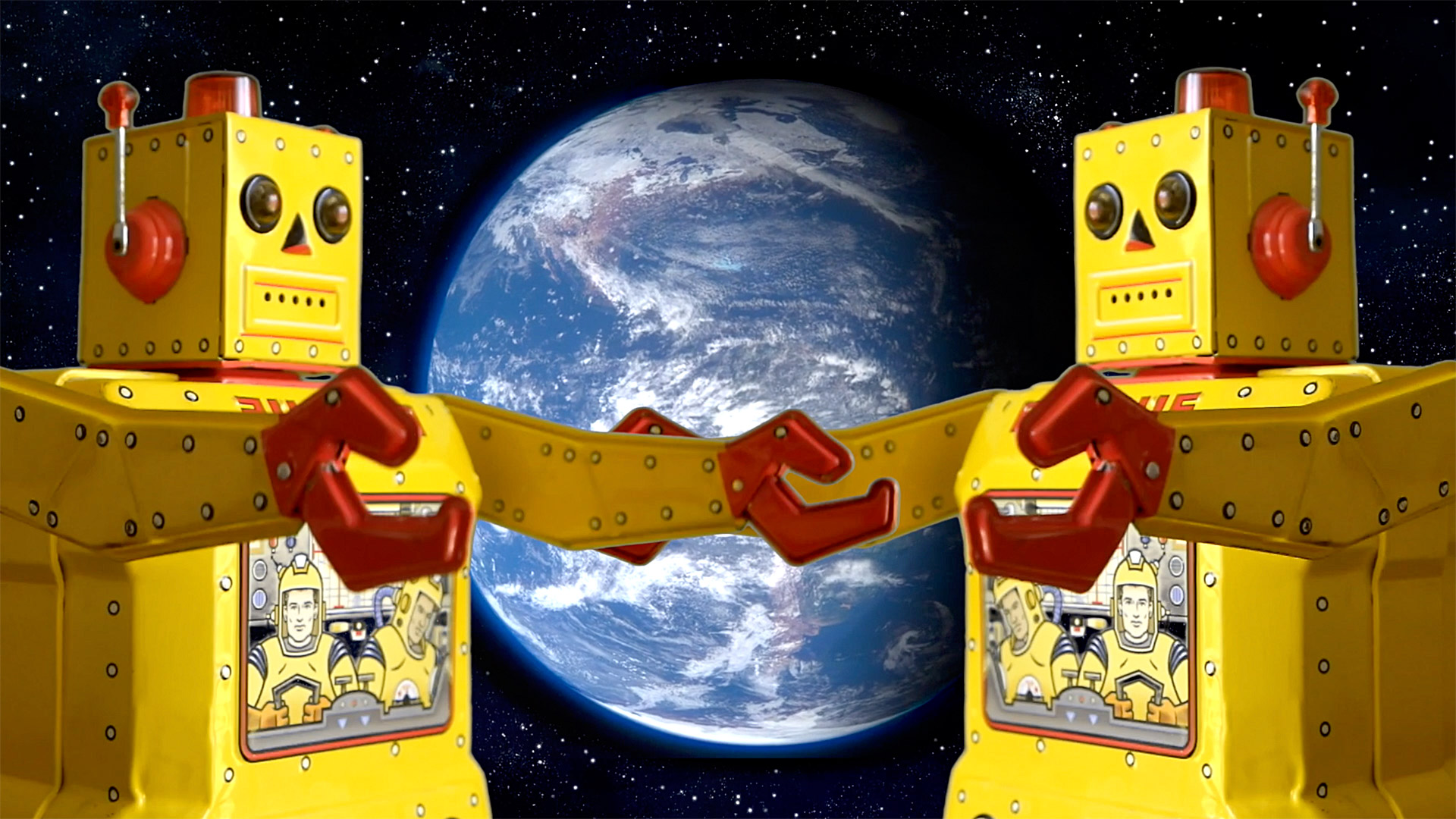 We are the Robot Space Explorers