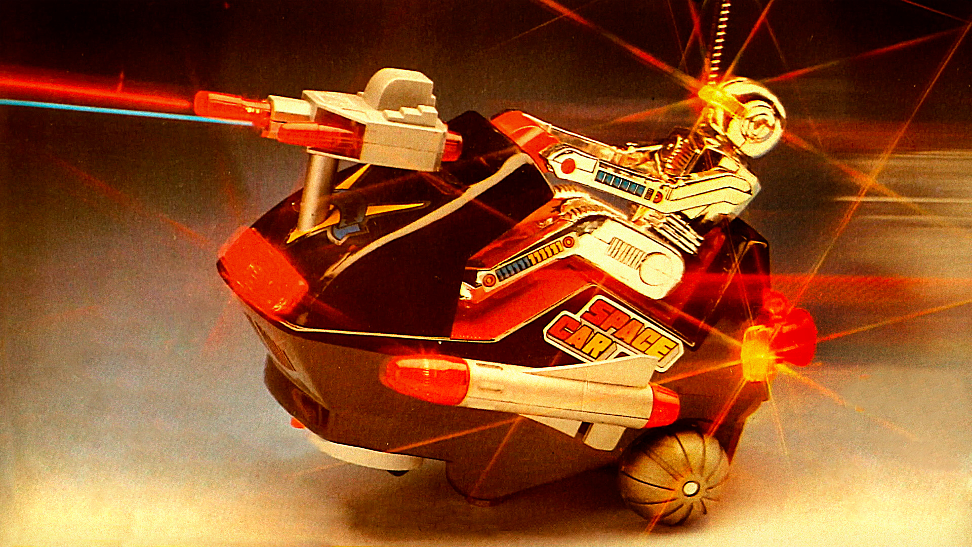 The Robots are on Patrol! - Vintage 1985 Space Raid Car Toy