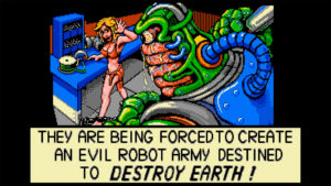 Escape from the Planet of the Robot Monsters!! // Retro Amiga Game
