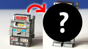 This slot machine doesn't like winners! -- Transforming Toy Robot