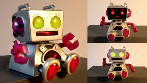 My new BABY ROBOT is always hungry! // The Bot-Ster by Tiger Electronics